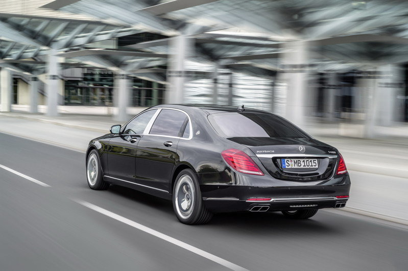 2016 Mercedes-Maybach S-Class High Resolution Exterior - image 578395