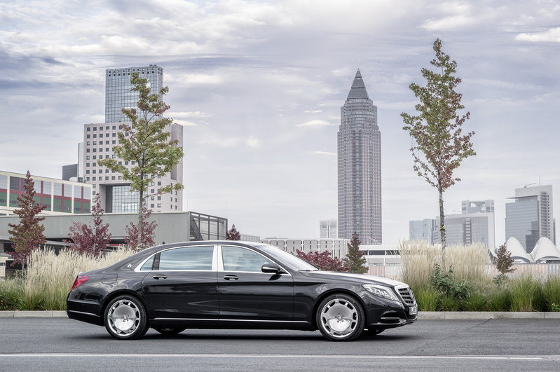 2016 Mercedes-Maybach S-Class High Resolution Exterior - image 578396