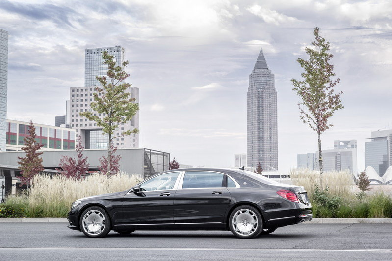 2016 Mercedes-Maybach S-Class High Resolution Exterior - image 578397