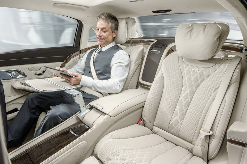 2016 Mercedes-Maybach S-Class Interior - image 578398