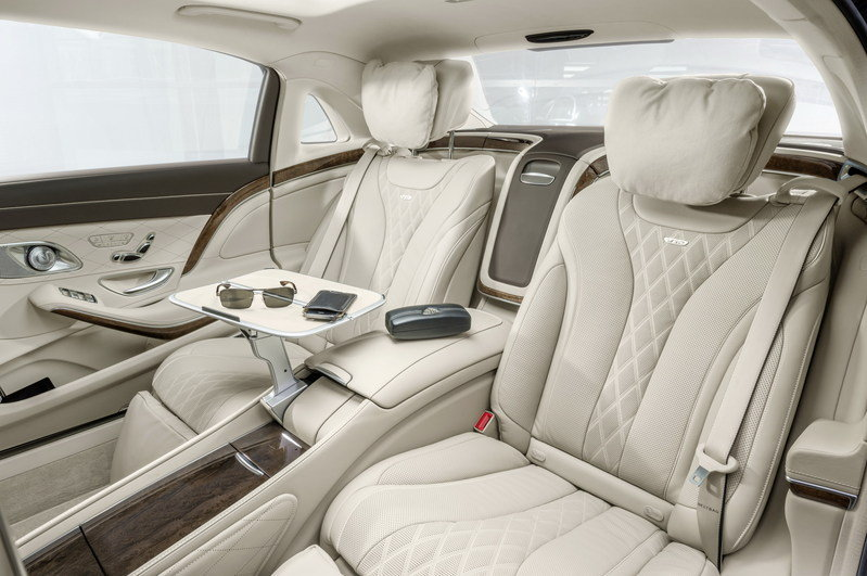 2016 Mercedes-Maybach S-Class Interior - image 578399