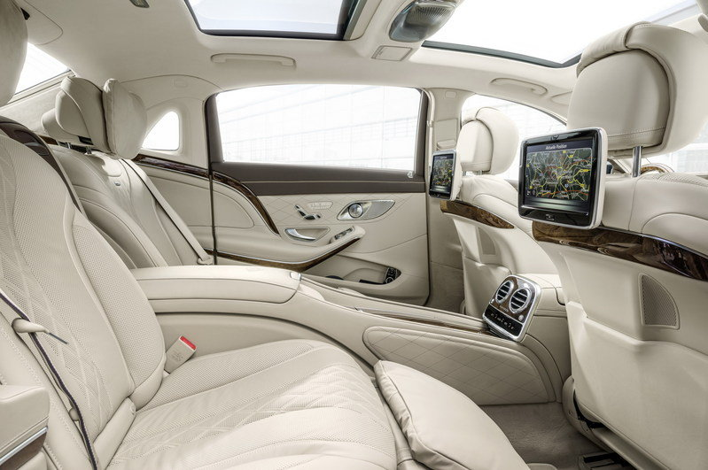 2016 Mercedes-Maybach S-Class Interior - image 578400
