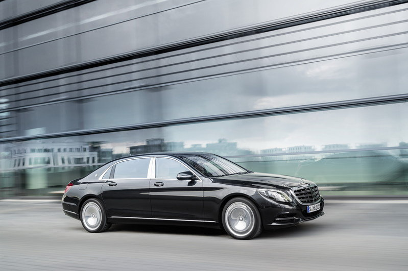 2016 Mercedes-Maybach S-Class High Resolution Exterior - image 578405
