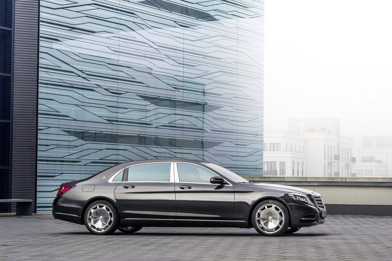 2016 Mercedes-Maybach S-Class High Resolution Exterior - image 578406