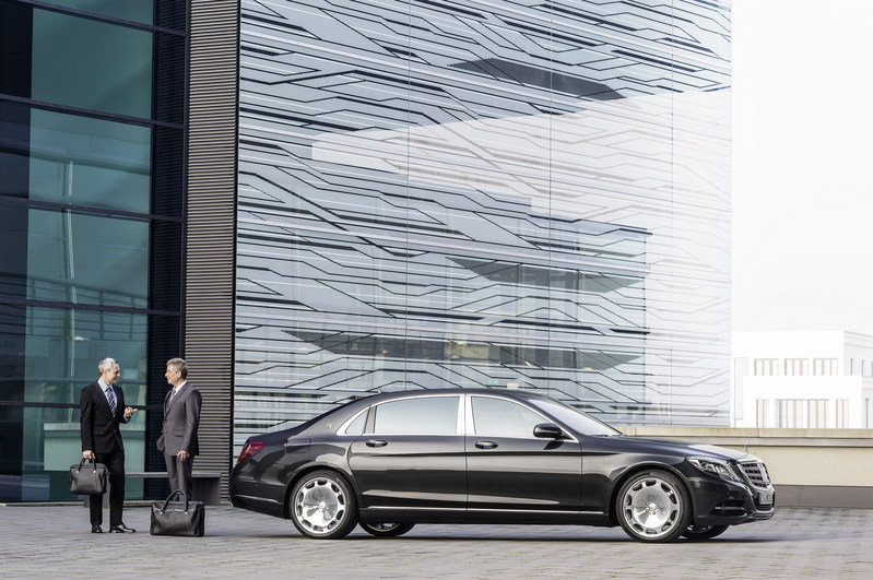 2016 Mercedes-Maybach S-Class High Resolution Exterior - image 578407
