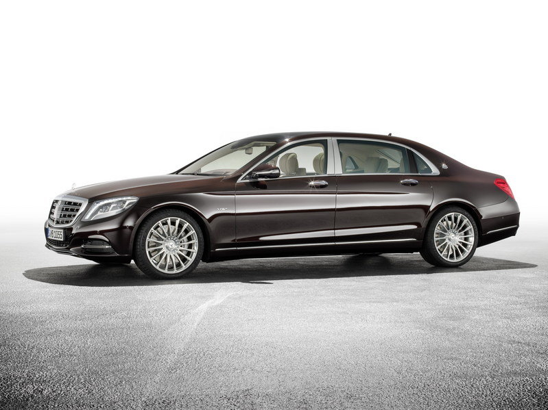 2016 Mercedes-Maybach S-Class High Resolution Exterior - image 578421