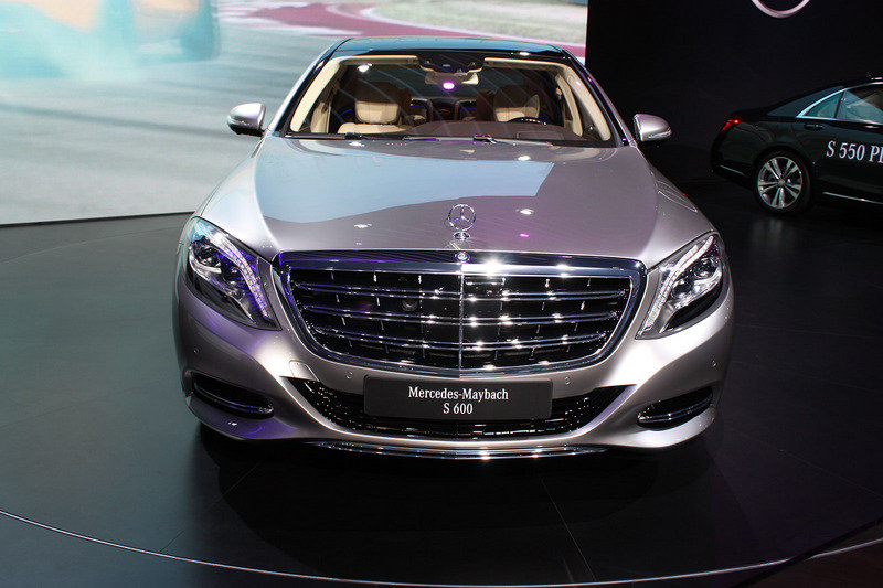 2016 Mercedes-Maybach S-Class Exterior - image 579881