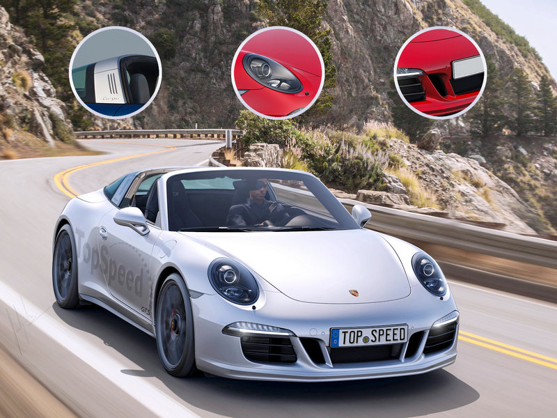 2016 Porsche 911 Targa 4 GTS Exclusive Renderings - image 580681