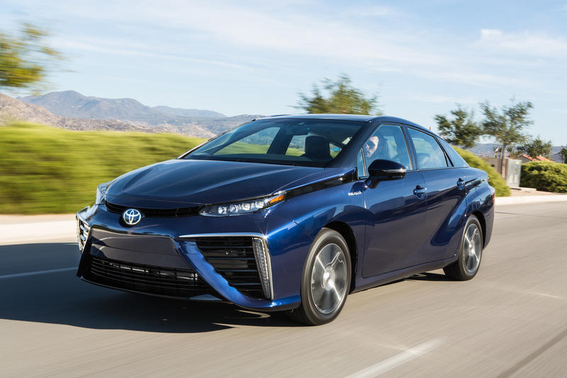 2016 Toyota Mirai High Resolution Exterior - image 578083