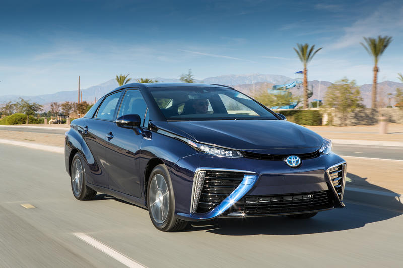 2016 Toyota Mirai High Resolution Exterior Wallpaper quality - image 578107