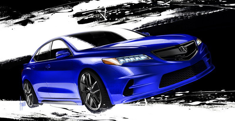 2015 Acura TLX by Galpin Auto Sports