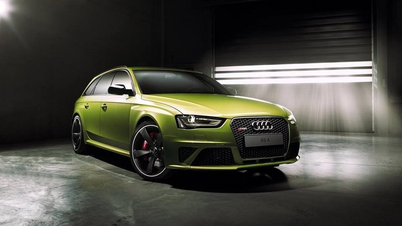 2014 Audi RS 4 Avant Peridot Metallic by Audi Exclusive