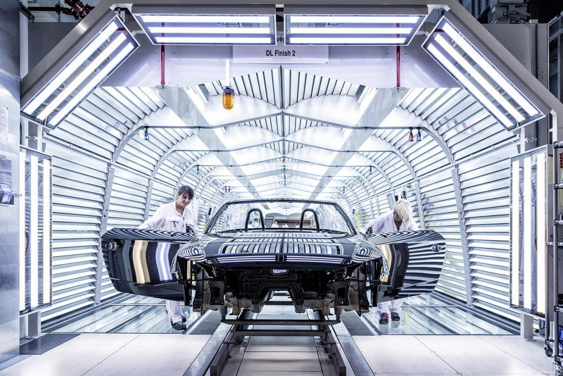 The New TT Roadster Enters Production in Audi's Hungary Plant - image 576484