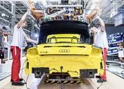 The New TT Roadster Enters Production in Audi's Hungary Plant - image 576487