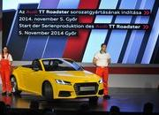 The New TT Roadster Enters Production in Audi's Hungary Plant - image 576490