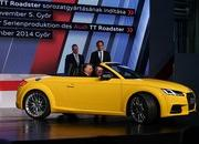 The New TT Roadster Enters Production in Audi's Hungary Plant - image 576491
