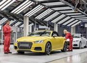 The New TT Roadster Enters Production in Audi's Hungary Plant - image 576483