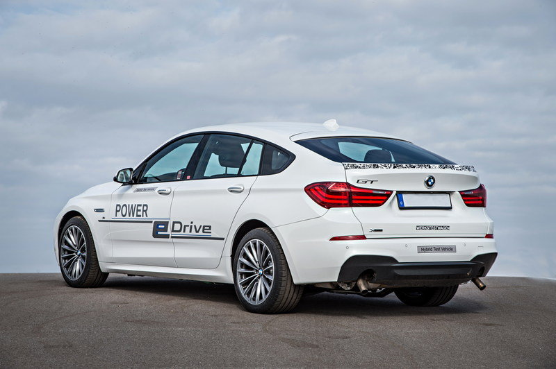 2015 BMW 5 Series GT Power eDrive High Resolution Exterior - image 580625