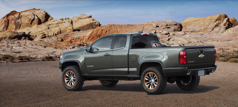 2014 Chevrolet Colorado ZR2 Concept High Resolution Exterior - image 578838