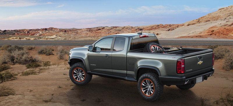 2014 Chevrolet Colorado ZR2 Concept High Resolution Exterior - image 578839