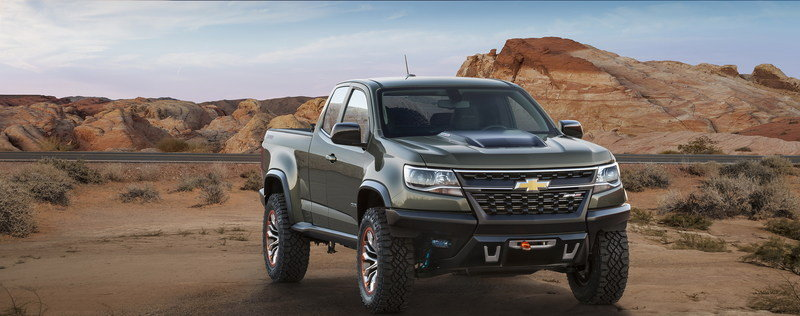 2014 Chevrolet Colorado ZR2 Concept High Resolution Exterior - image 578840