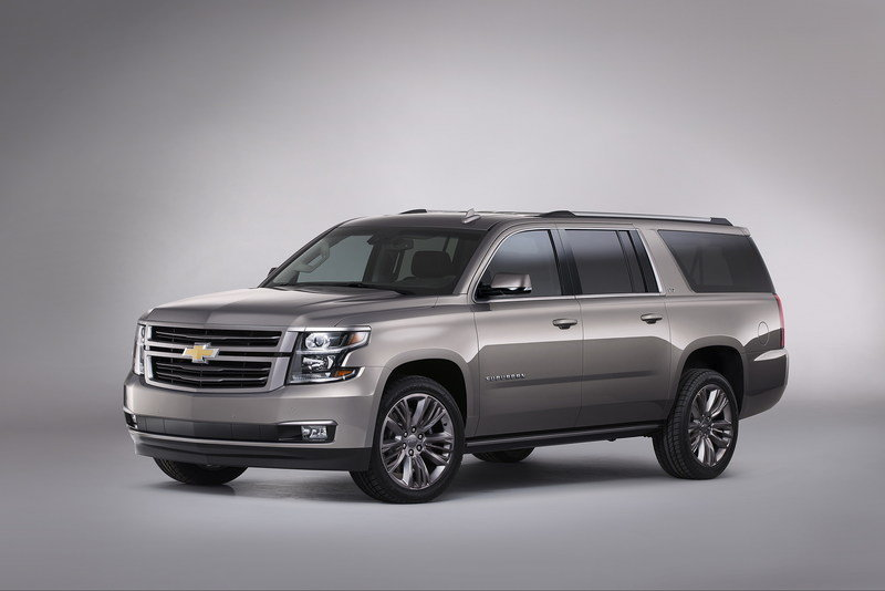 2015 Chevrolet Suburban Premium Outdoors Concept