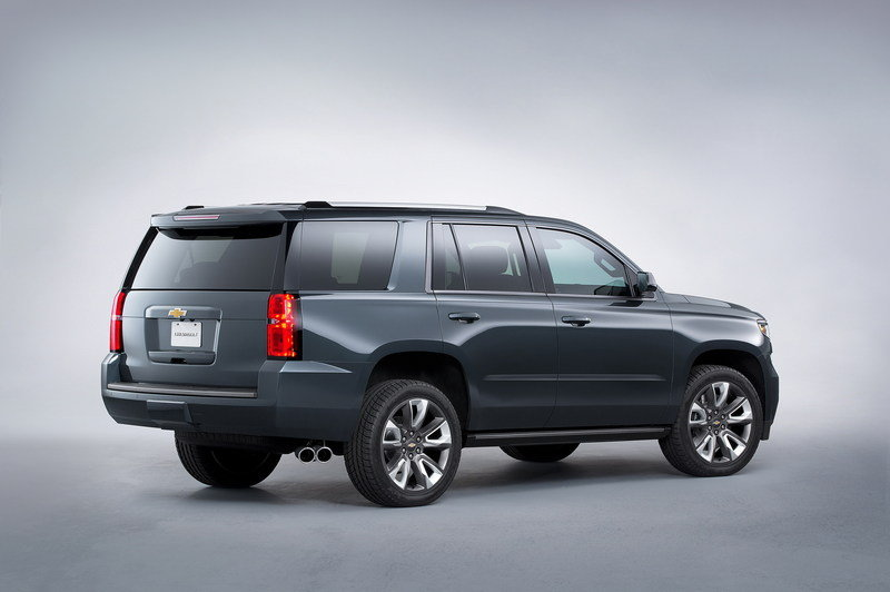 2015 Chevrolet Tahoe Premium Outdoors Concept High Resolution Exterior - image 576073