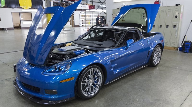"First ""Sinkhole"" Corvette Restored in Time for SEMA"