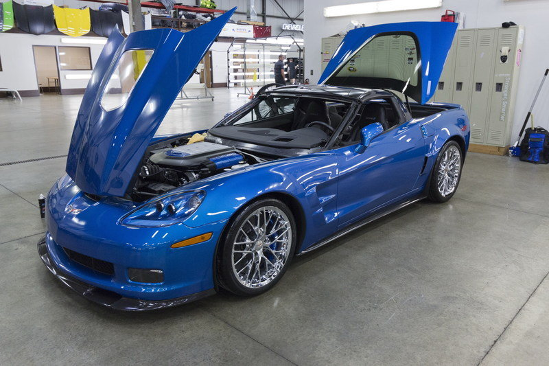 "First ""Sinkhole"" Corvette Restored in Time for SEMA - image 576298"