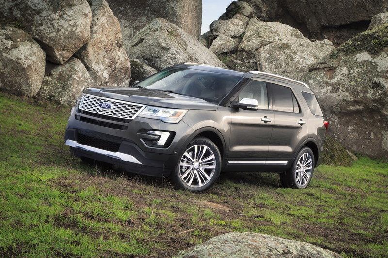 2016 Ford Explorer High Resolution Exterior - image 578445