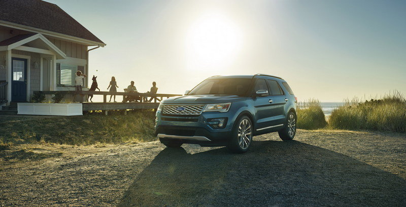 2016 Ford Explorer High Resolution Exterior - image 578432