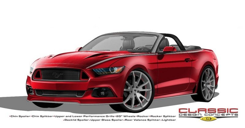 2015 Ford Mustang By Classic Design Customs