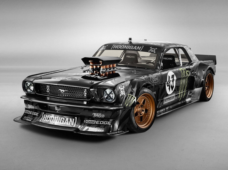 1965 Ford Mustang Gymkhana 7 By Ken Block High Resolution Exterior - image 576083