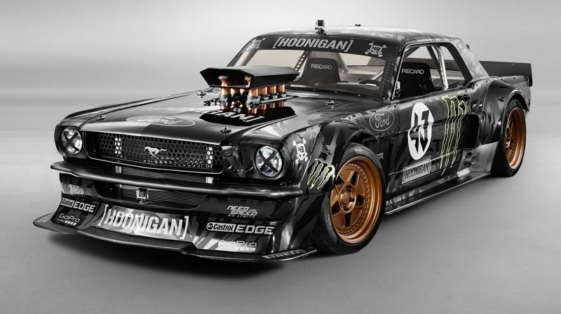 1965 Ford Mustang Gymkhana 7 By Ken Block