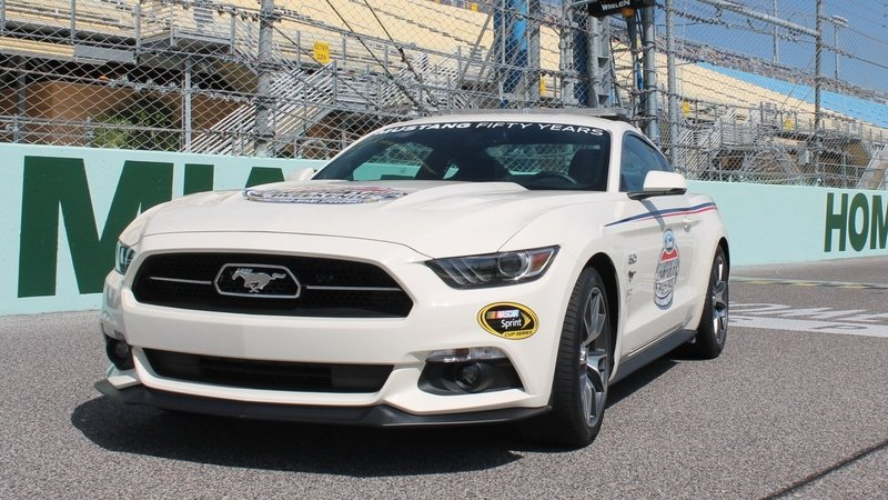 2015 Ford Mustang Ford Championship Weekend Pace Car
