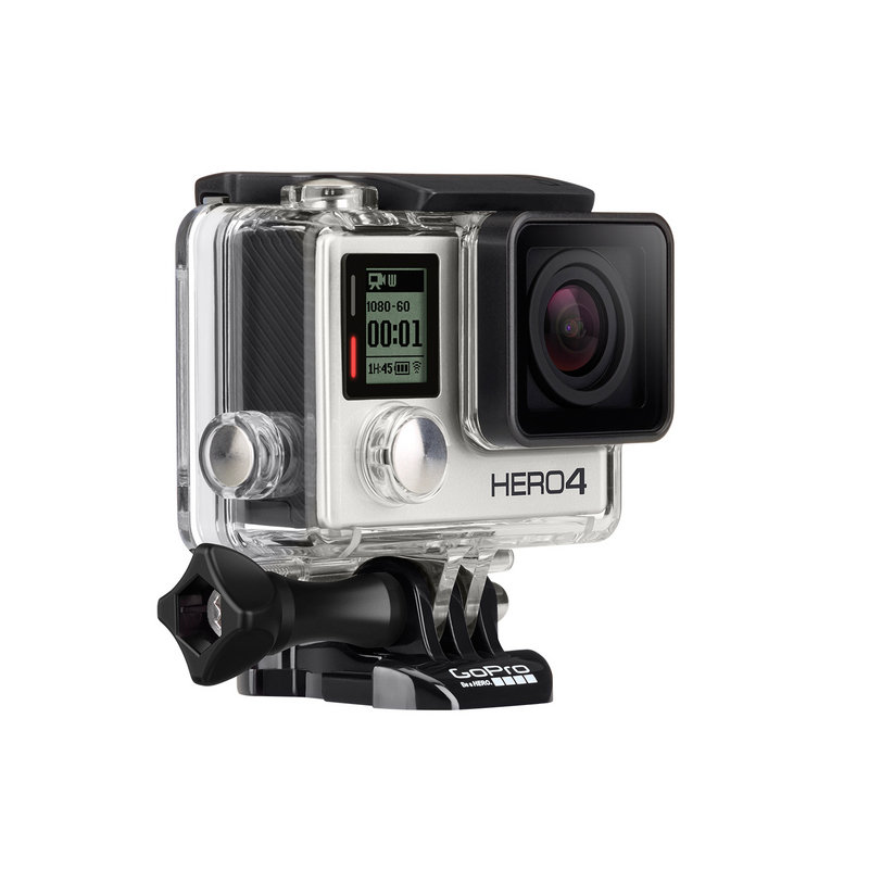 GoPro Hero 4 Silver - TopSpeed Tested