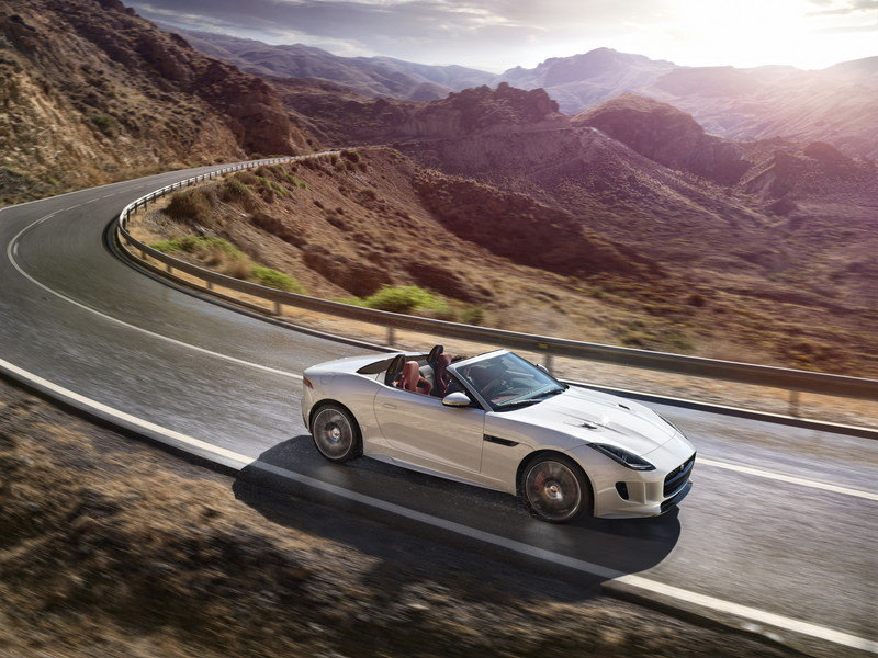 2016 Jaguar F-Type AWD Convertible High Resolution Exterior - image 578495
