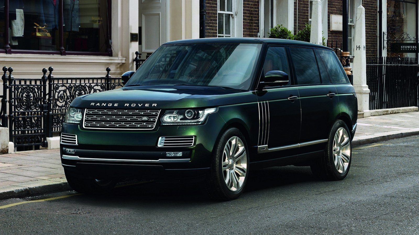 2015 Land Rover Range Rover SVO Holland & Holland Special