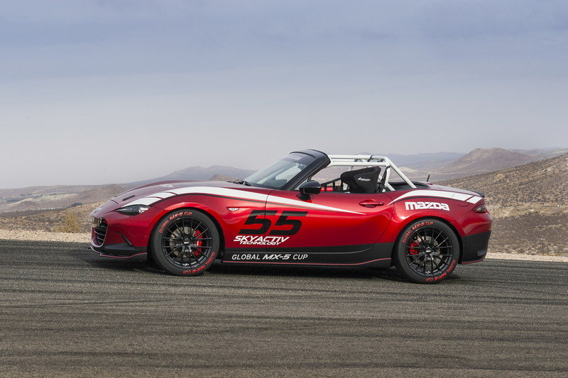 2015 Mazda MX-5 Cup Racecar High Resolution Exterior - image 576255