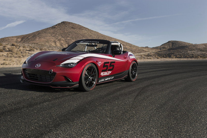 2015 Mazda MX-5 Cup Racecar High Resolution Exterior - image 576260