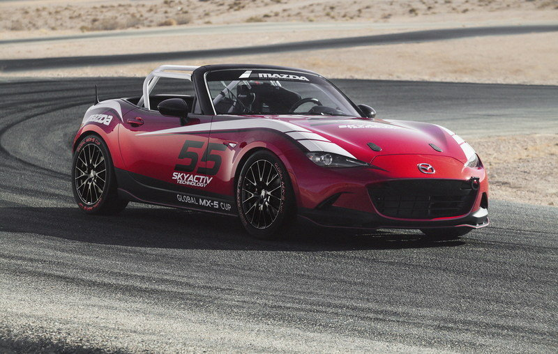 2015 Mazda MX-5 Cup Racecar High Resolution Exterior - image 576245