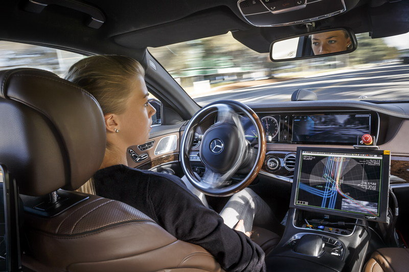 Mercedes-Benz Previews the Interior of its Future Autonomous Cars Interior - image 578126