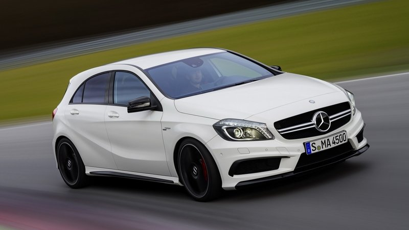 More Powerful Mercedes A45 AMG in the Works