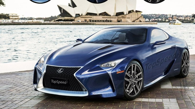 "Production Version Lexus LF-LC Will Revive the ""SC"" Name"