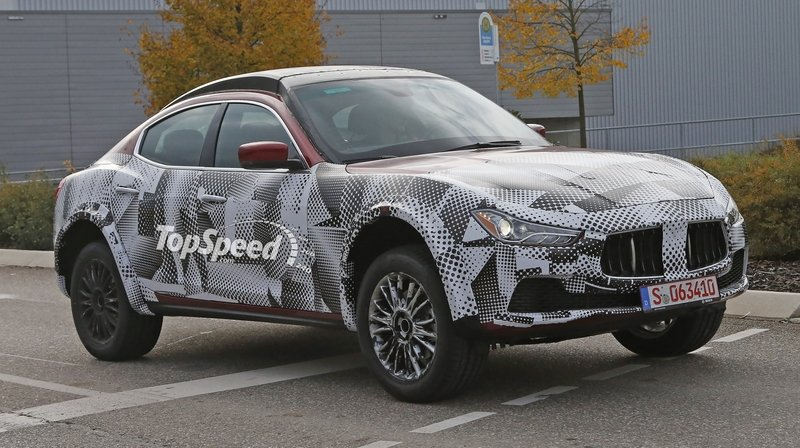 Spy Shots: Maserati Levante Testing in Germany