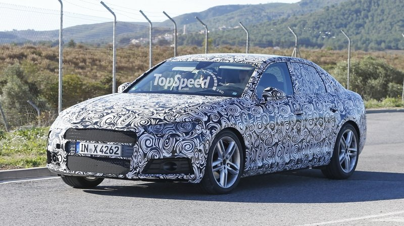 Spy Shots: 2016 Audi A4 Caught Testing in Southern Europe