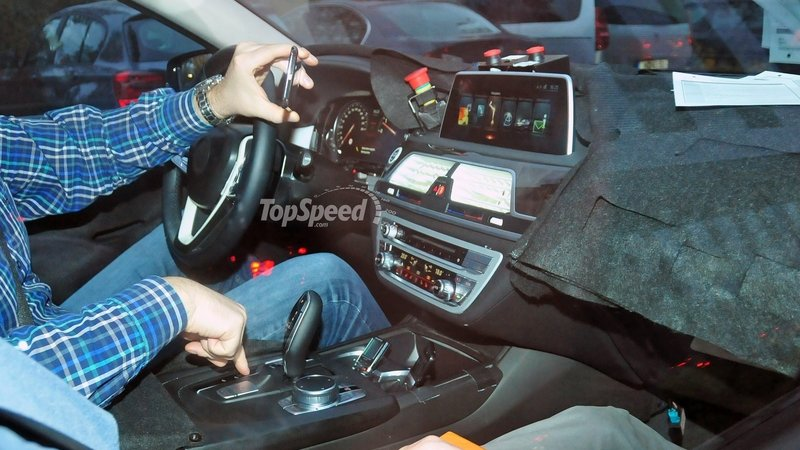 Spy Shots 2016 BMW 7 Series Reveals Its Interior