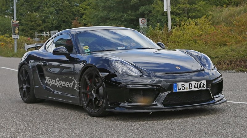 Spy Shots: Porsche Cayman GT4 Caught Uncovered