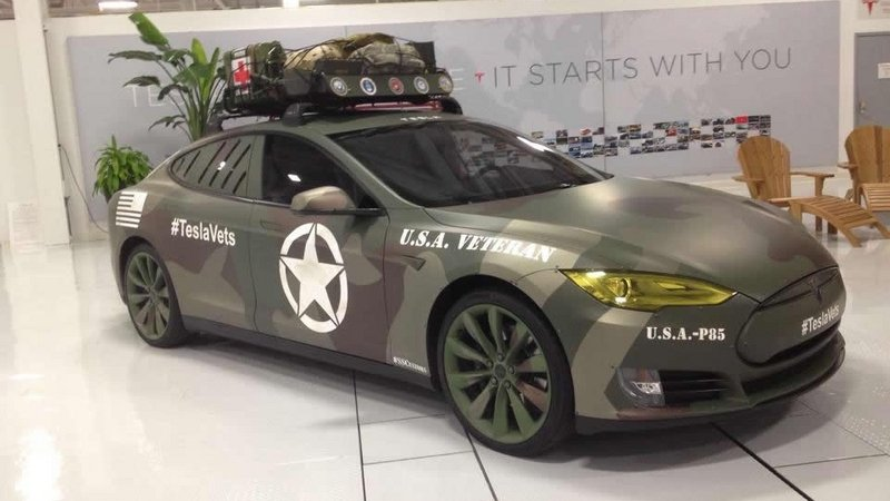 2014 Tesla Model S P85 Veterans Edition