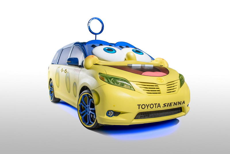 2015 Toyota Sienna SpongeBob Edition High Resolution Exterior Wallpaper quality - image 578256
